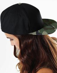 Pięciopanelowa czapka z logo